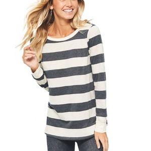 Striped Long Sleeve Top/Tee